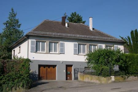 Maison individuelle 3*** de plein-pied à Rosheim - Rosheim - Casa