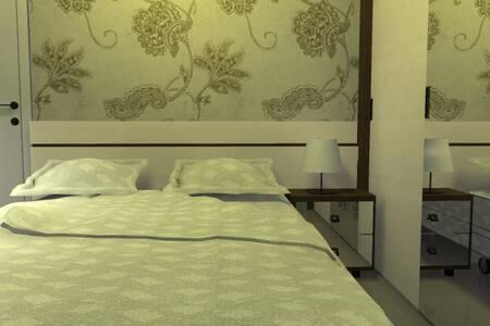 Um quarto aconchegante e barato. - Blumenau