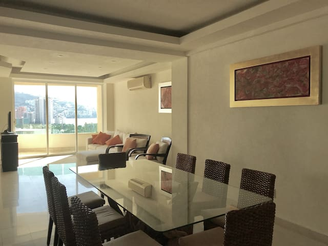 Apartment In Costa Azul, with a View of the Bay