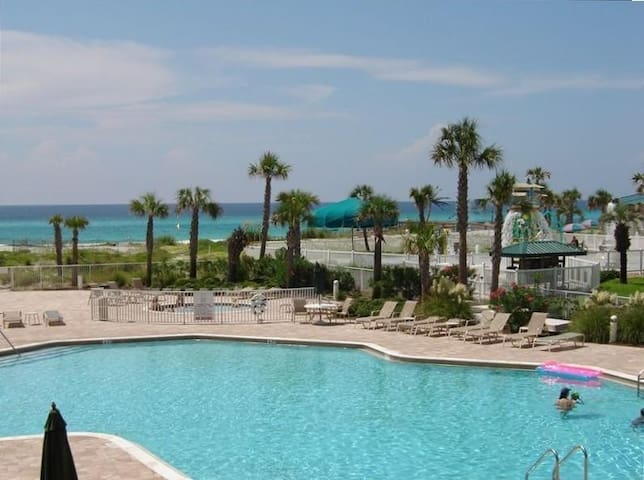 Destin West Gulfside 209 - You Own Slice of Paradise! - Ocean Views - Free Beach Service! - Okaloosa Island