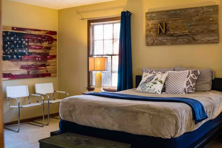 The Nest at Mallard Point: A private getaway