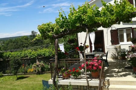 Quietly countryside holiday-Tudari - surrounding of Žminj, Croatia - Huoneisto