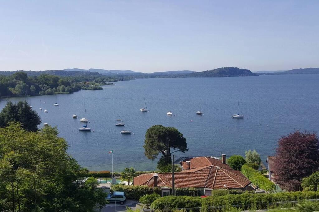 Vista lago spettacolare