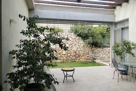 Galilee's patio