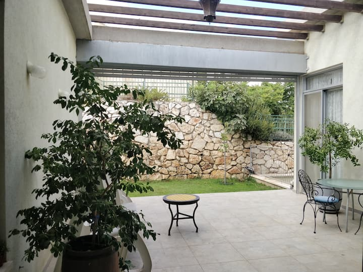 Galilee's patio