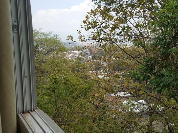 Habitaciones con vista a la cuidad en area segura