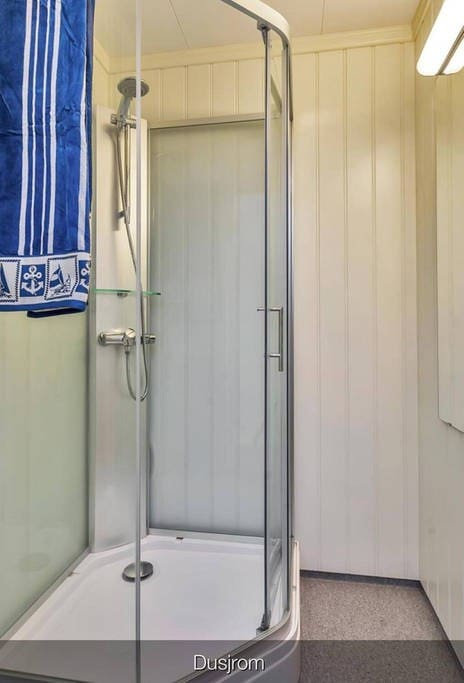 Shower in own room