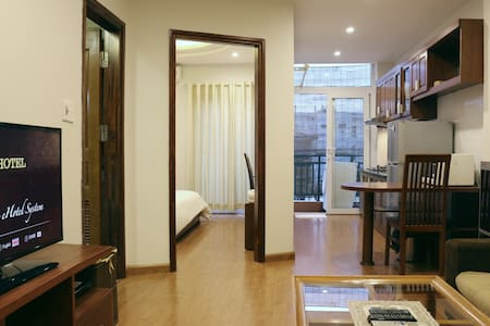 L501 Palmo Serviced Apartment 1BR Private Balcony - Hanoi