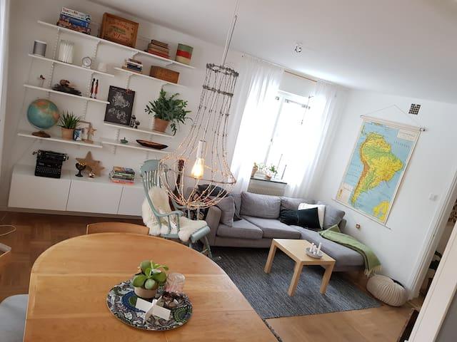 Härlig lägenhet i fint område