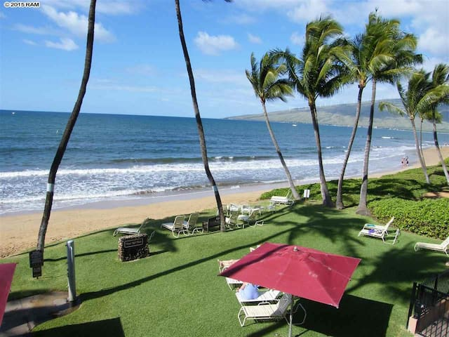 Ocean FrontNani Kai Hale 204 has 2 full bathrooms! - Kihei - Kondominium