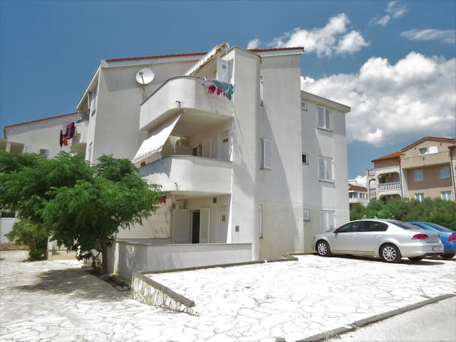 One bedroom Apartment, in Novalja - island Pag, Terrace