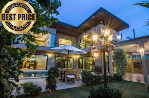 Stunning 350 sqm  4 bedroom pool villa