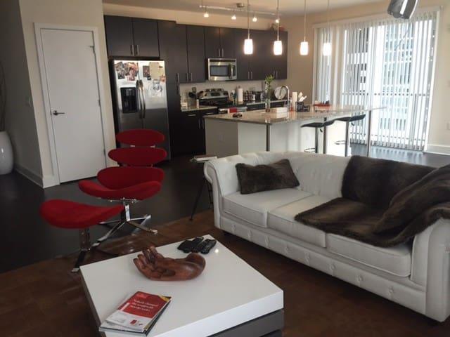 Luxury Pvt Room, Central Buckhead - Atlanta - Huoneisto