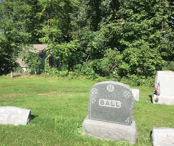 The Resting Place for Chautauqua Mayville