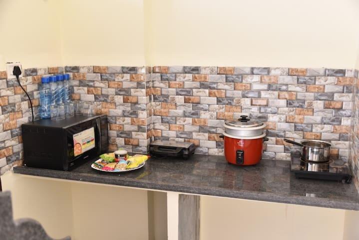 fully furnished moduler kitchen