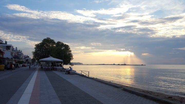 Bright beach apartment in Epivates Thessaloniki