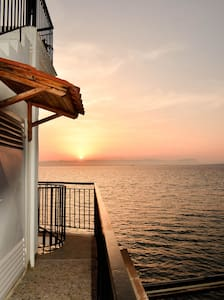 sunset on the messinian bay 2 - Wohnung