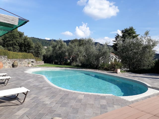 Stylish apartment, private pool, Florence 30mins