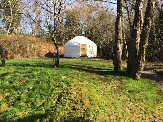 Upper Brook Romantic Yurt for 2 - Michaelchurch Escley
