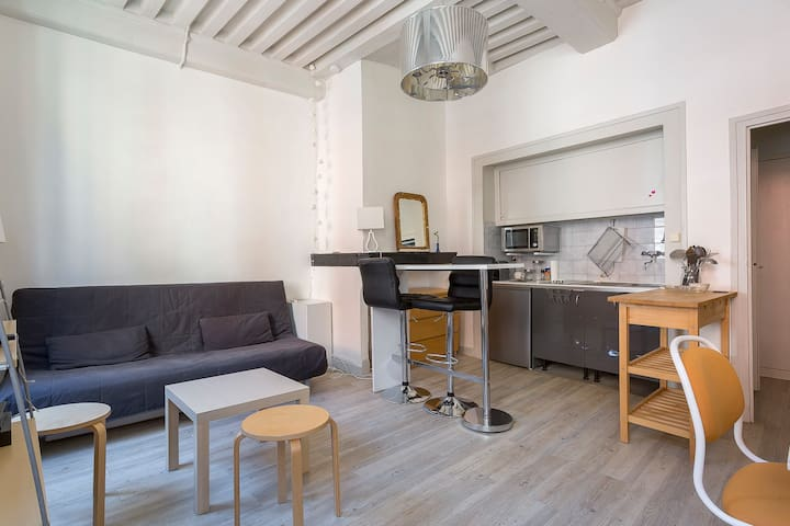 AUTOMATED CHECK-IN - Charming studio - Lyon -