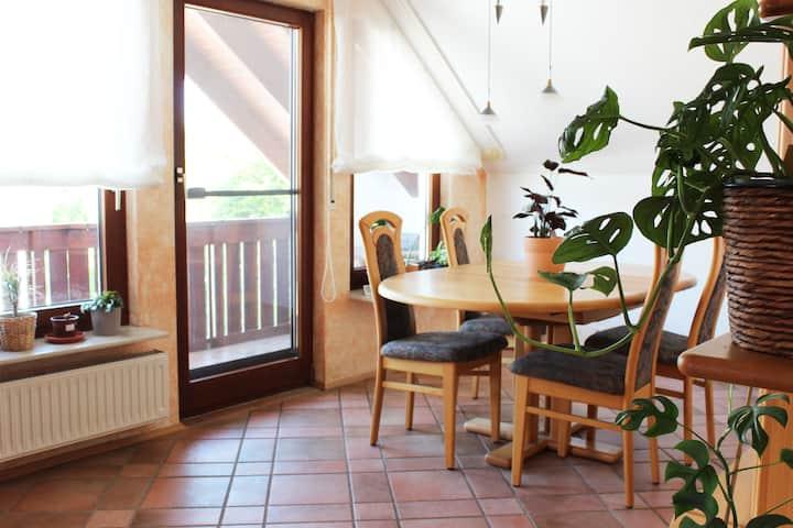 Große, helle Wohnung mit Balkon in ruhiger Lage