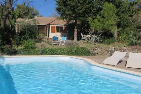 Huis met privé zwembad & privacy - Montbrun-des-Corbières