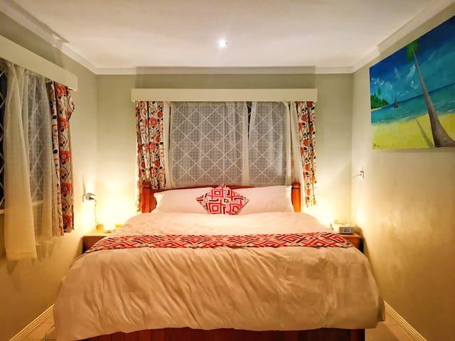 Bedroom #1 - Master Bedroom ensuite with a super comfy King Bed