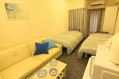 opening price Shinsaibashi sta 4min TV and WIFI - 大阪市 - Apartmen