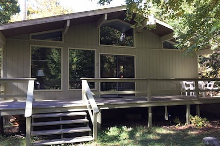 Peaceful Poconos cabin near the historic JimThorpe - White Haven - Cabaña