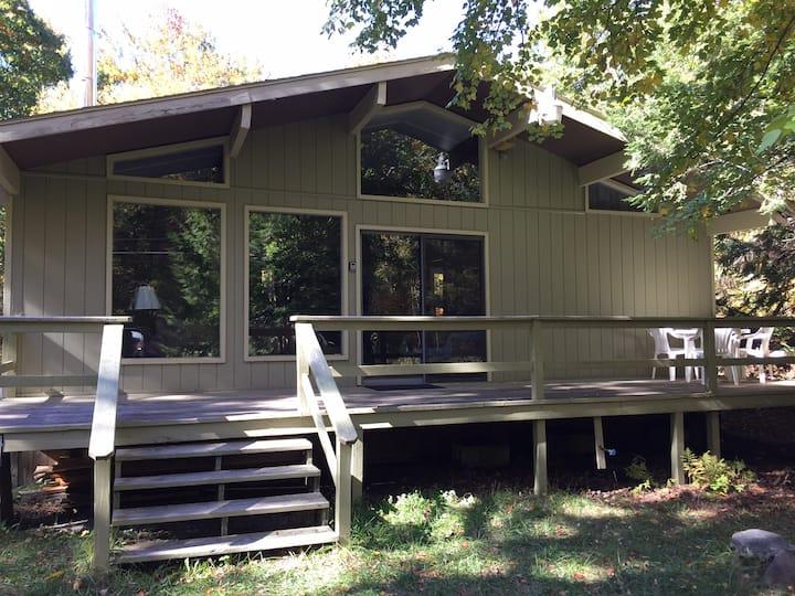 Peaceful Pocono cabin near the historic JimThorpe