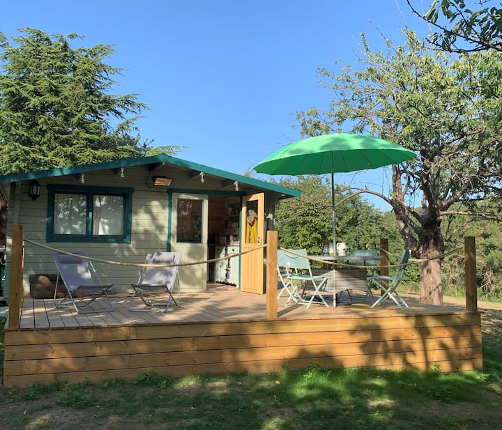 The Cherry Lodge. Peace. Seclusion and Nature.
