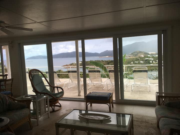 Casa Blanca, Spacious Villa on Water Island, USVI