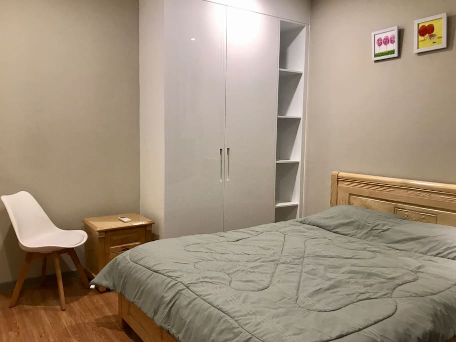 Private second bedroom