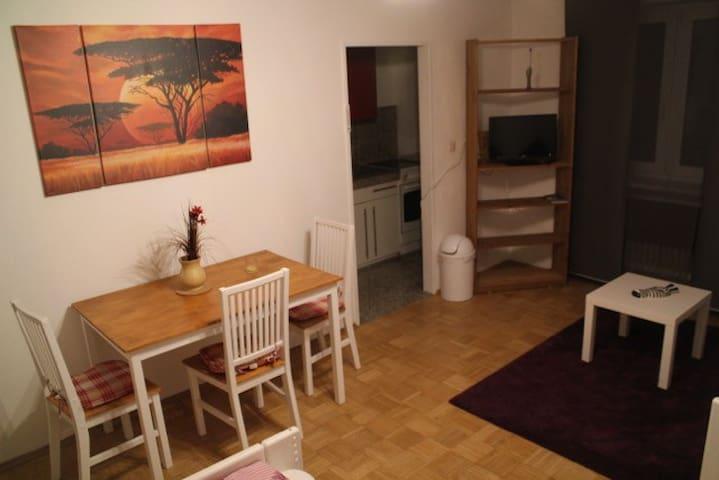Appart  Quellenstrasse / - Augsbourg - Appartement en résidence