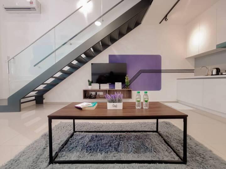 Cozy Duplex by Power Home @EkoCheras