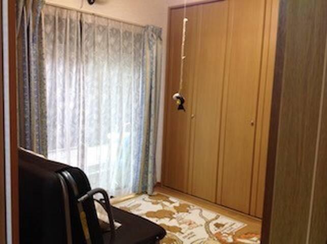 女性専用民泊 洋室「ヤマモモ」4.5畳 (1人部屋)