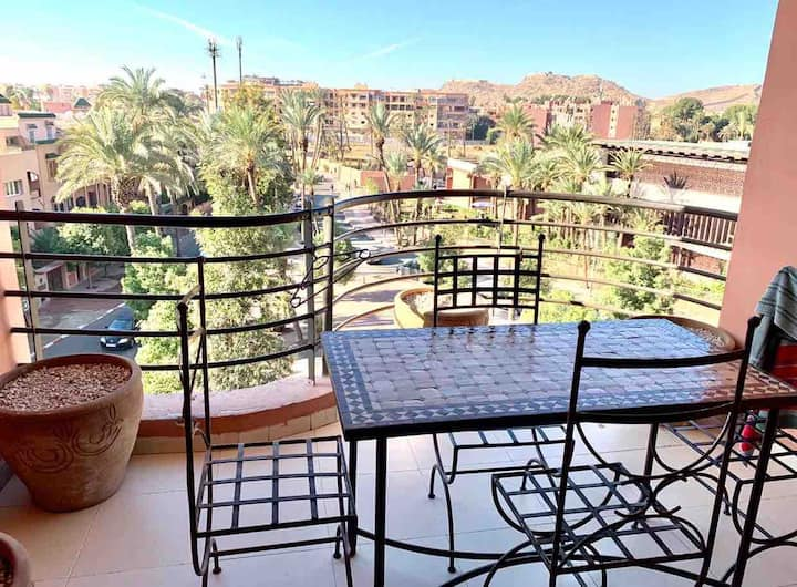 Spacious apartment in the centre of marrakech