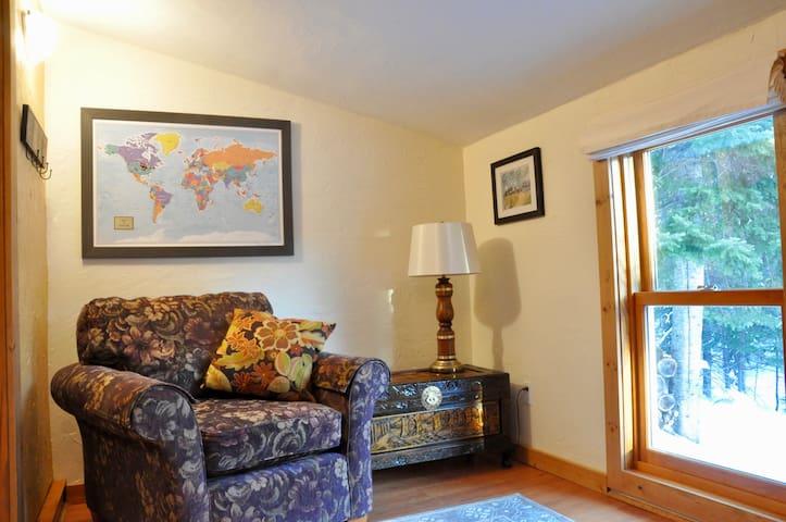 Lower level sitting room