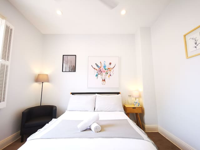 Quiet city room*650metres from Museum station
