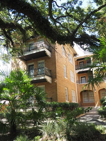 Historic Mobile condo close to downtown.