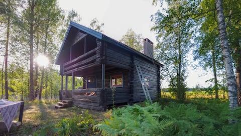 Hällbacken - Hyggelig hytte i Dalarna