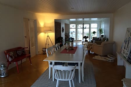 Archipelago house, seaview, central, renovated - Skärhamn - House - 2