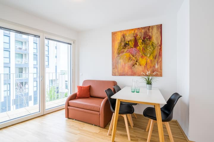 Green Living Apartment IV mit Balkon nähe U-Bahn