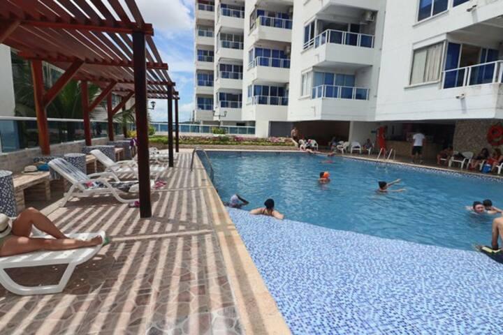 Apartamento en Cartagena Frente al Mar 1C11