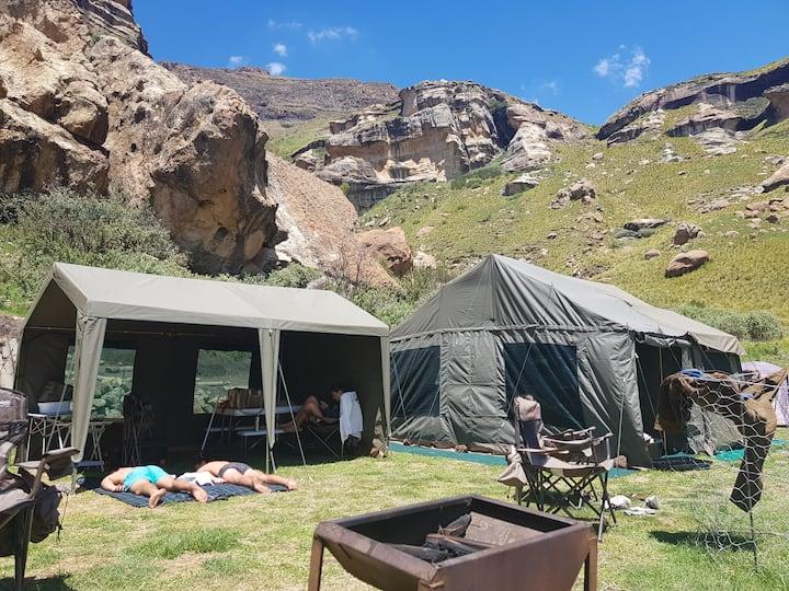 Frosty Peaks Camping