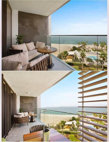 Nikki Beach 3 Bed Room Sea View -Dubai stay