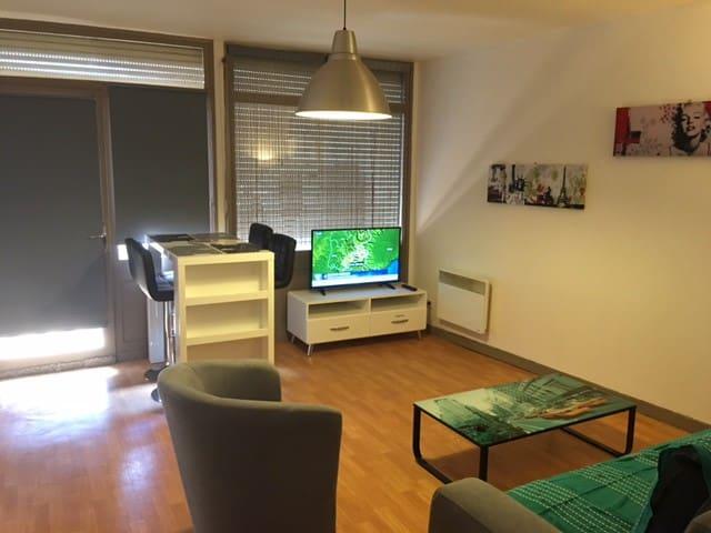Appartement 70 m2, CV de Montauban avec 2 chambres