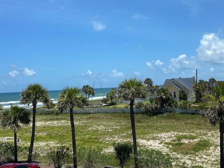Oceanfront Resort Room w Private Oceanview balcony