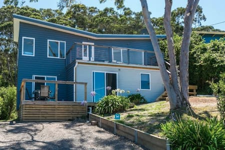 The Butterfly House,  a retro beach house refurb. - Separation Creek - Hus