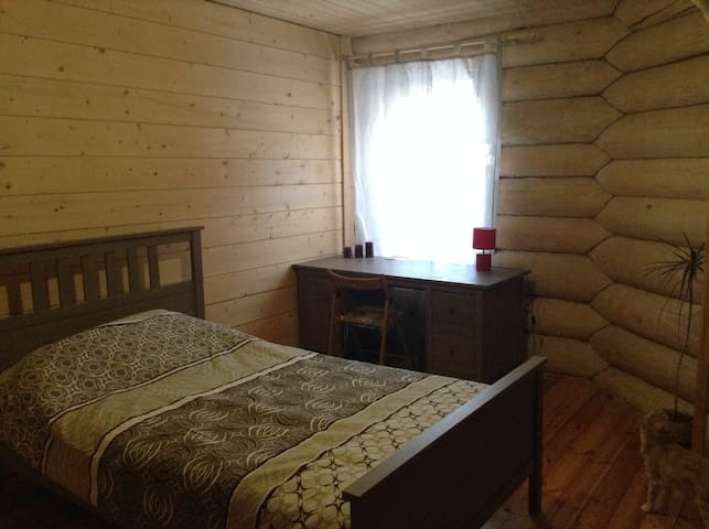 Rooms in a wonderful wooden house - Petrozavodsk - Maison